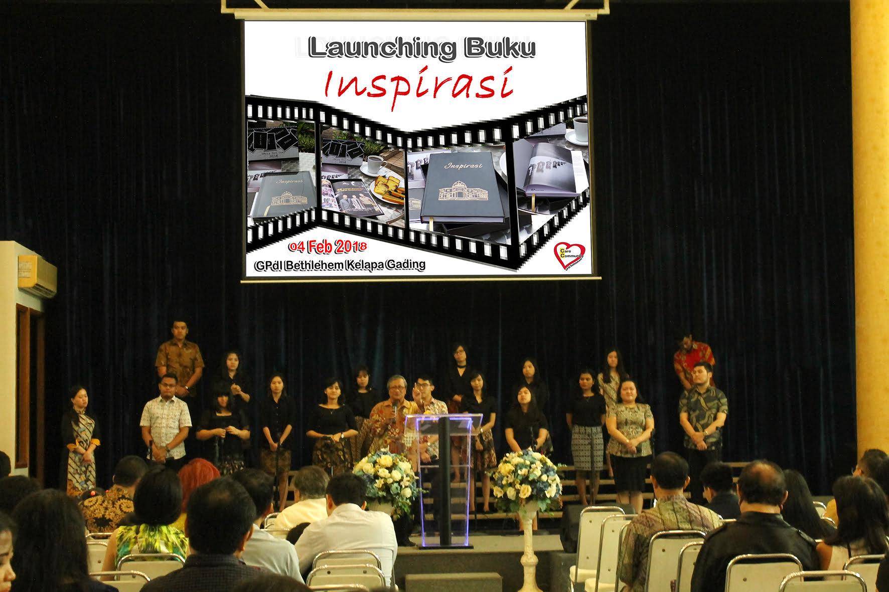 Launching buku Inspirasi