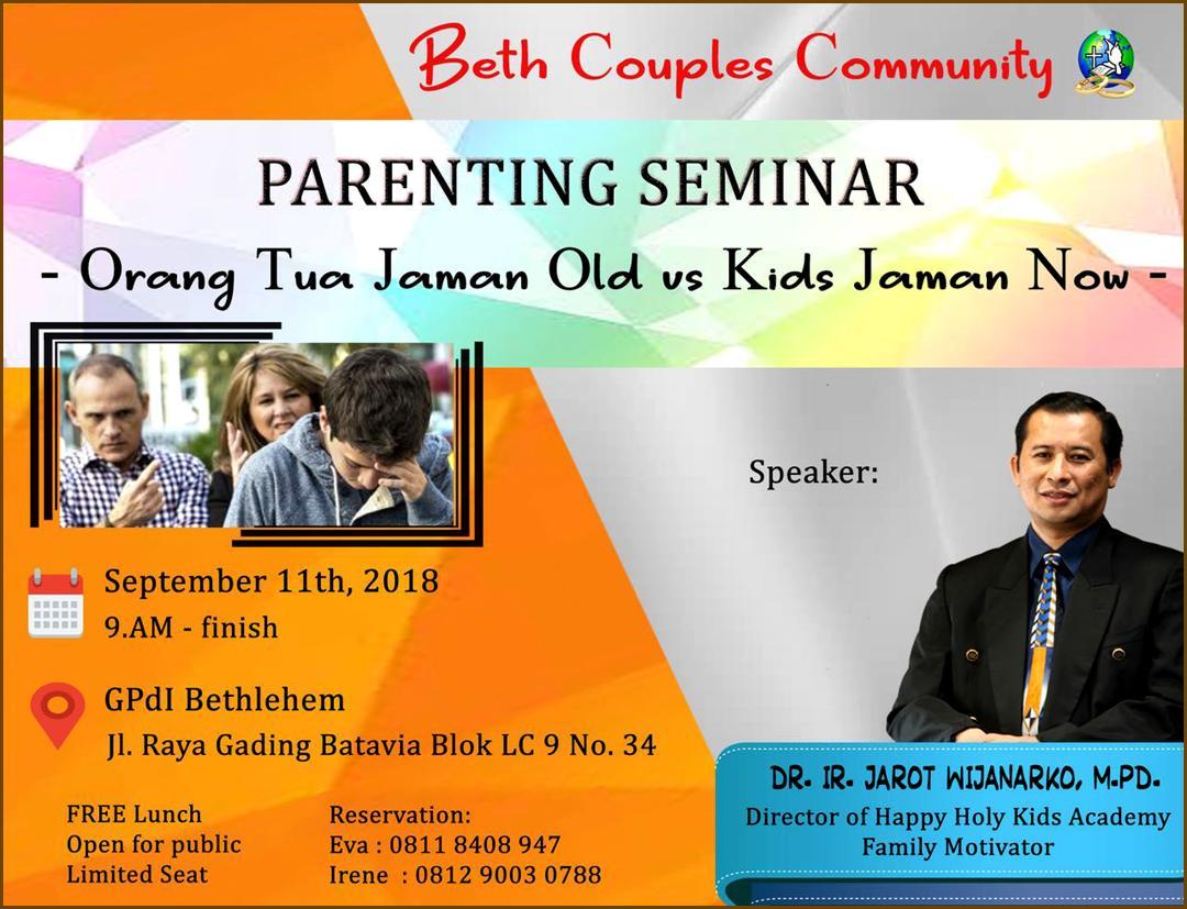 seminar BCC